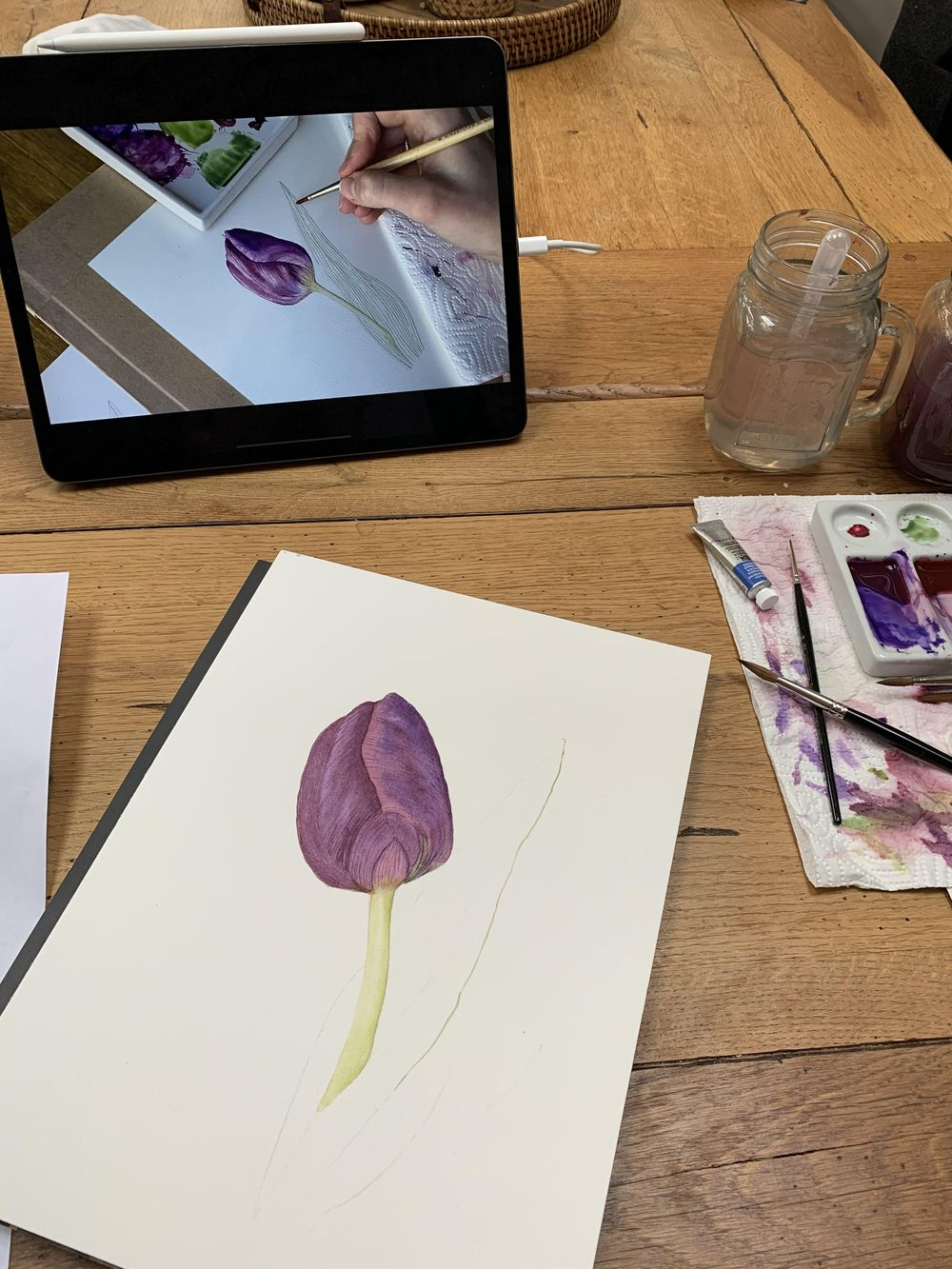 First tulip attempt - image 3 - student project