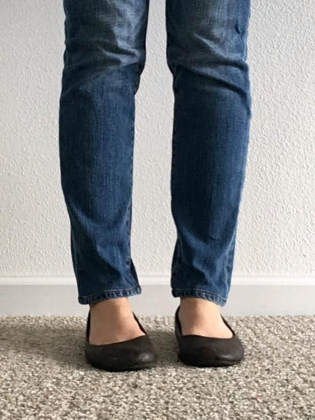 Shortening My Jeans with the Original Hem - image 2 - student project