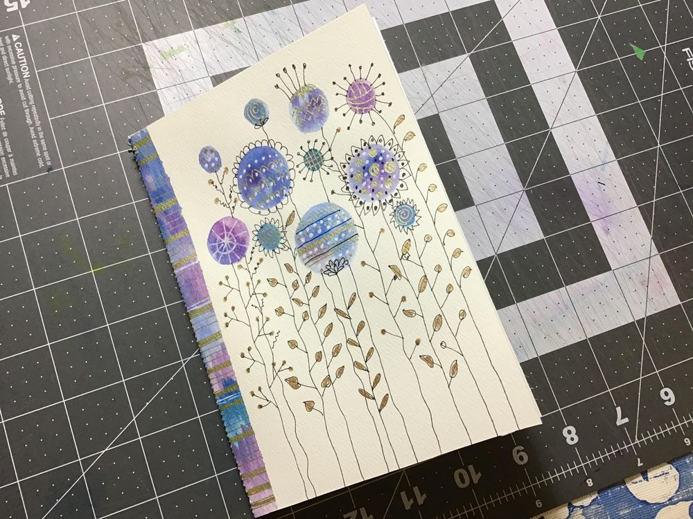 Inky Doodle Notebook with Lucie Duclos - image 2 - student project