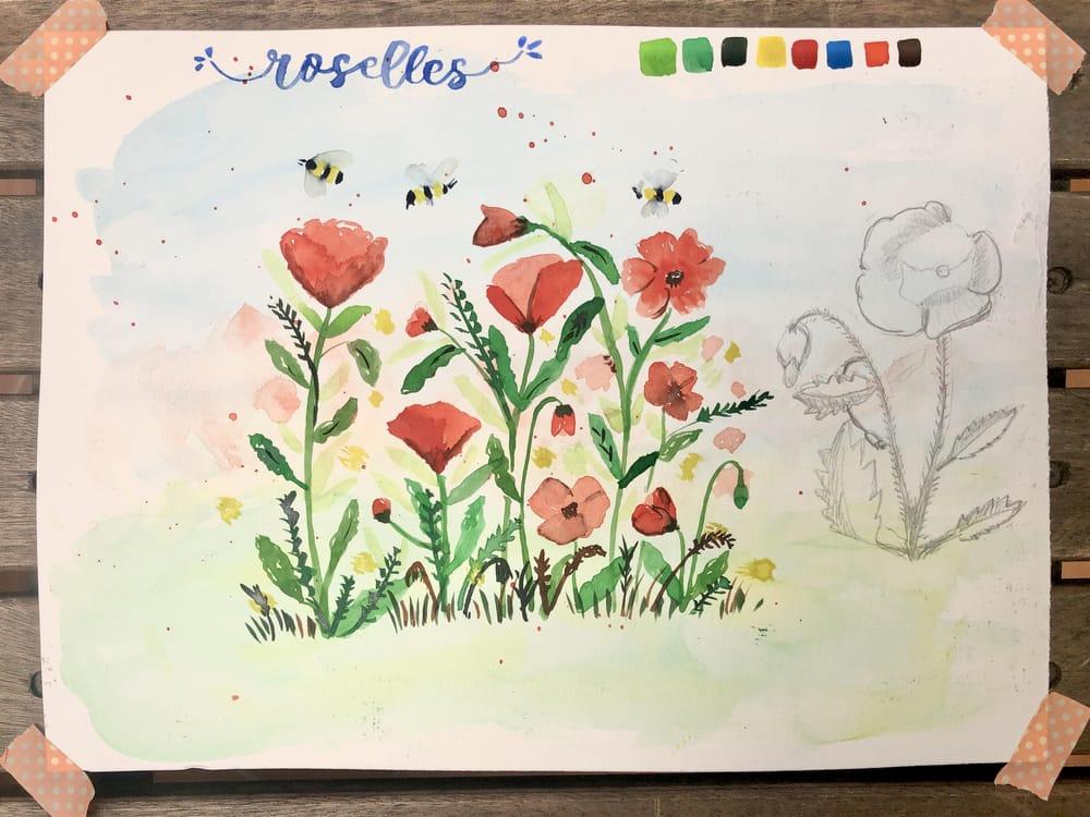 Starting a botanical sketchbook - image 1 - student project