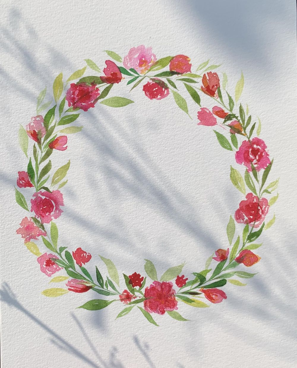 Floral wreath - image 1 - student project