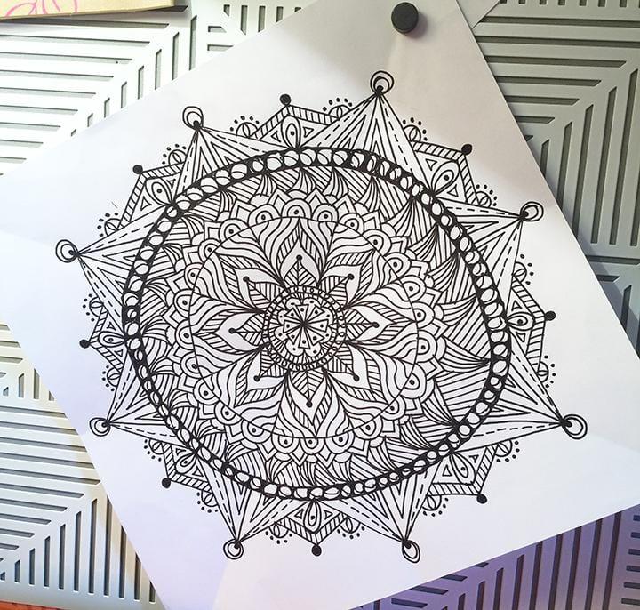 Quick Mandalas - image 1 - student project