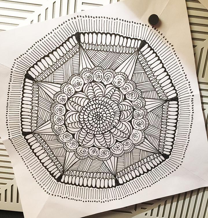 Quick Mandalas - image 4 - student project