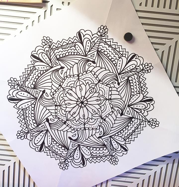 Quick Mandalas - image 2 - student project