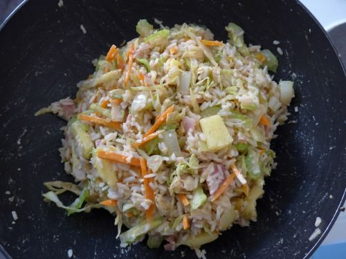 Hawaiian Golden Fried Rice - image 1 - student project