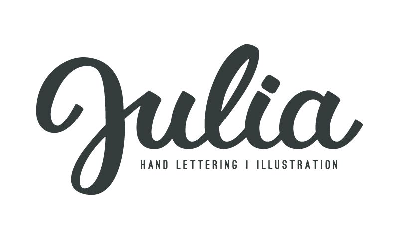 My name is..   Brushpen logo design  - image 8 - student project