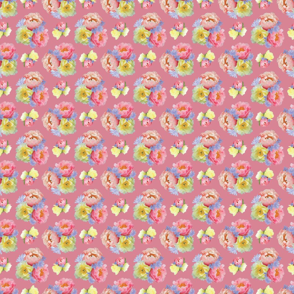 Pattern design from floral motifs - image 3 - student project