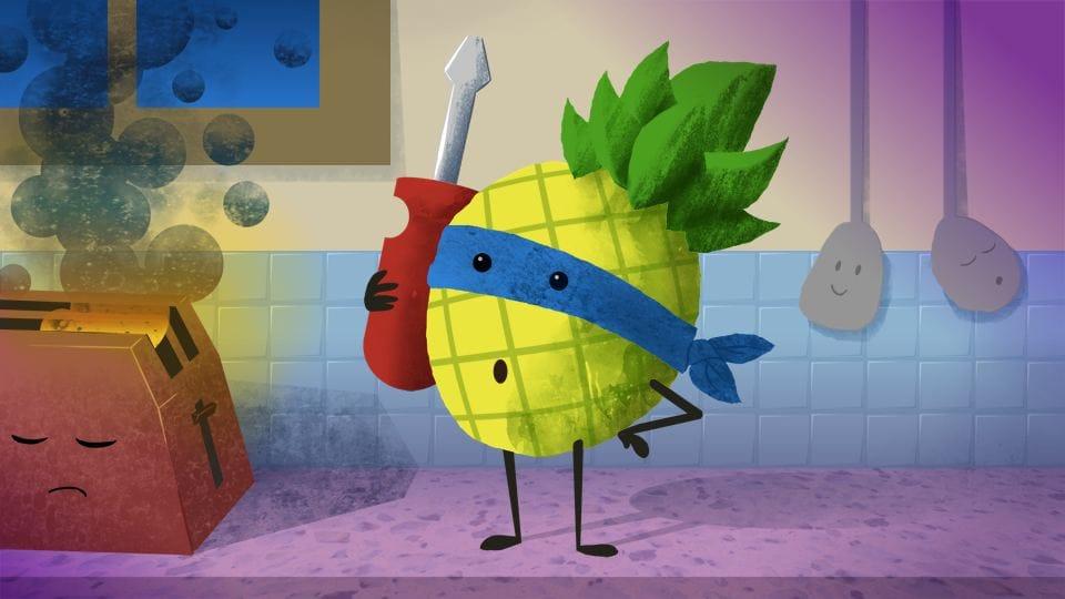 Pineapple Superhero - image 1 - student project