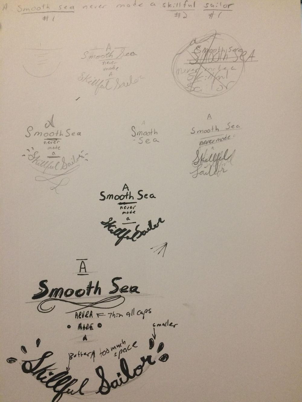 Smooth Sea Quote - image 1 - student project
