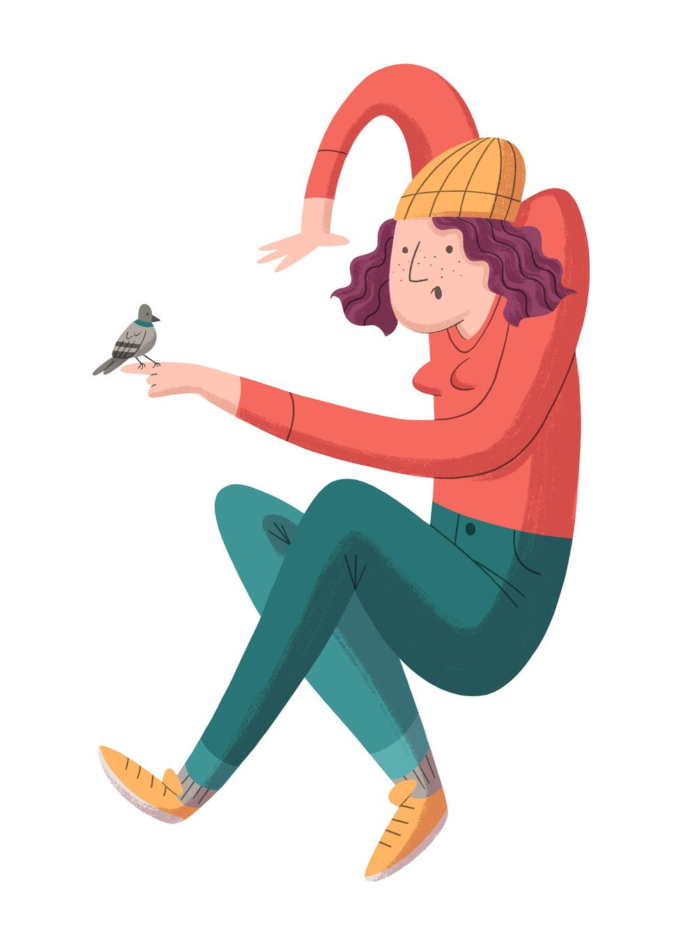 Pigeon Girl - image 1 - student project