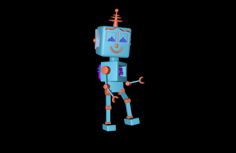 my little robot - image 1 - student project