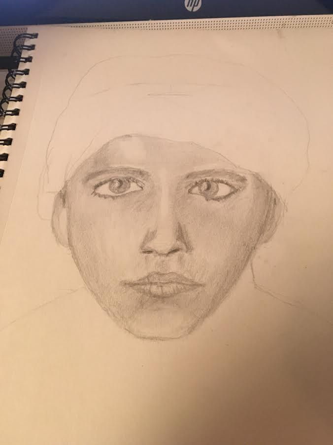 Exploring Portrait Drawing - image 2 - student project