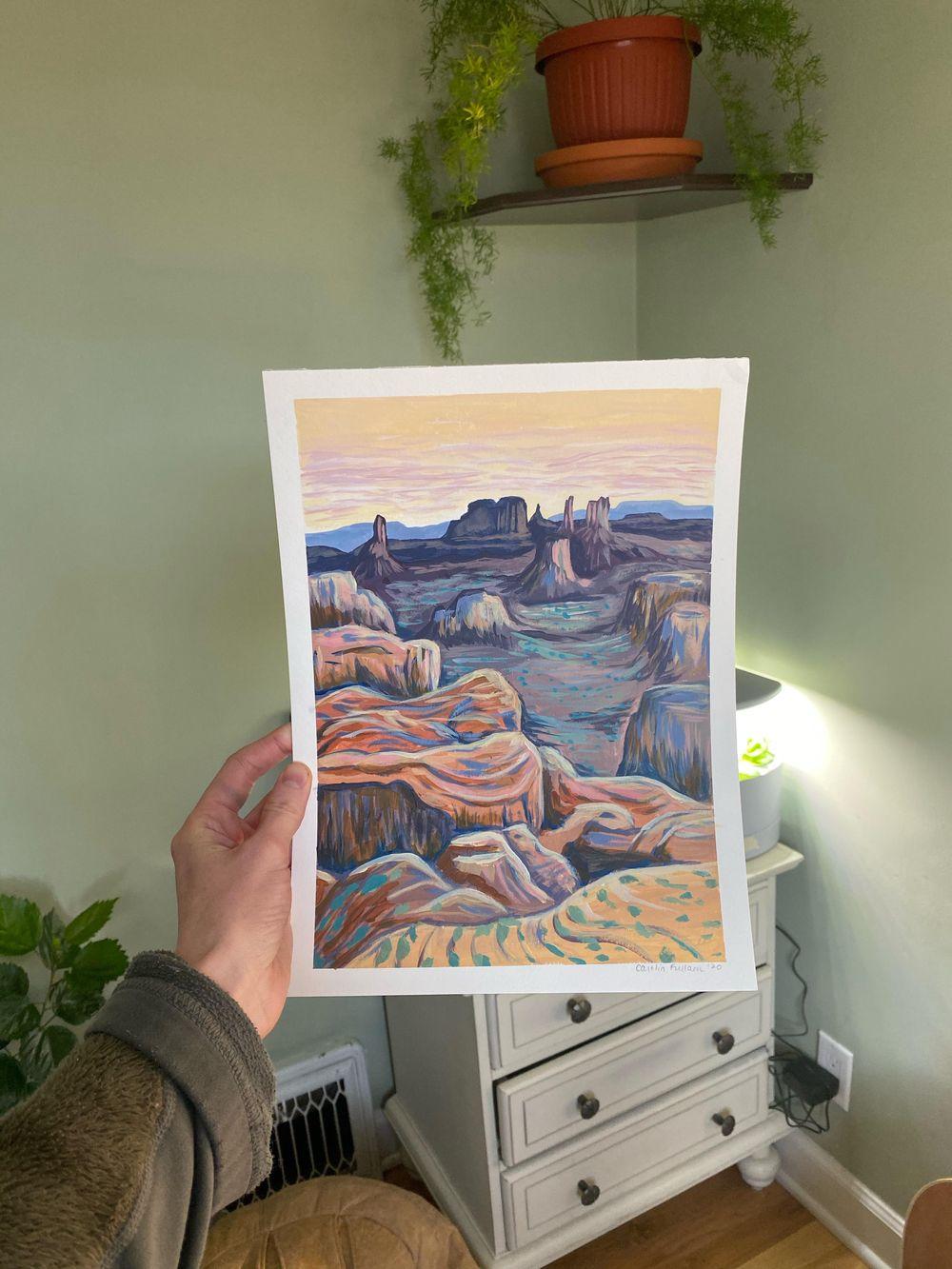 desert vista - image 1 - student project