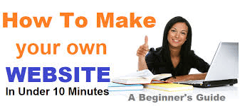 How to Create YOUR OWN website in 10 minutes free of charge..... begin your  Online Business today - image 1 - student project