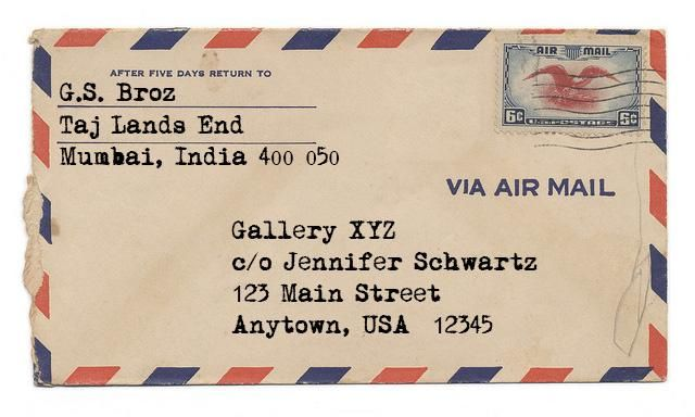 Air Mail promo - image 1 - student project