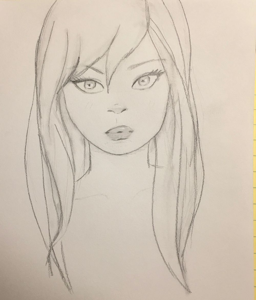 Still working on hair - image 1 - student project