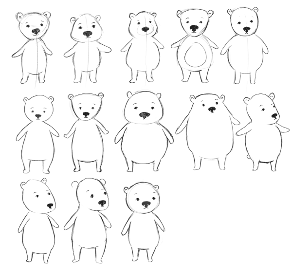 Brown Bear - image 2 - student project