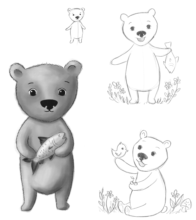 Brown Bear - image 4 - student project