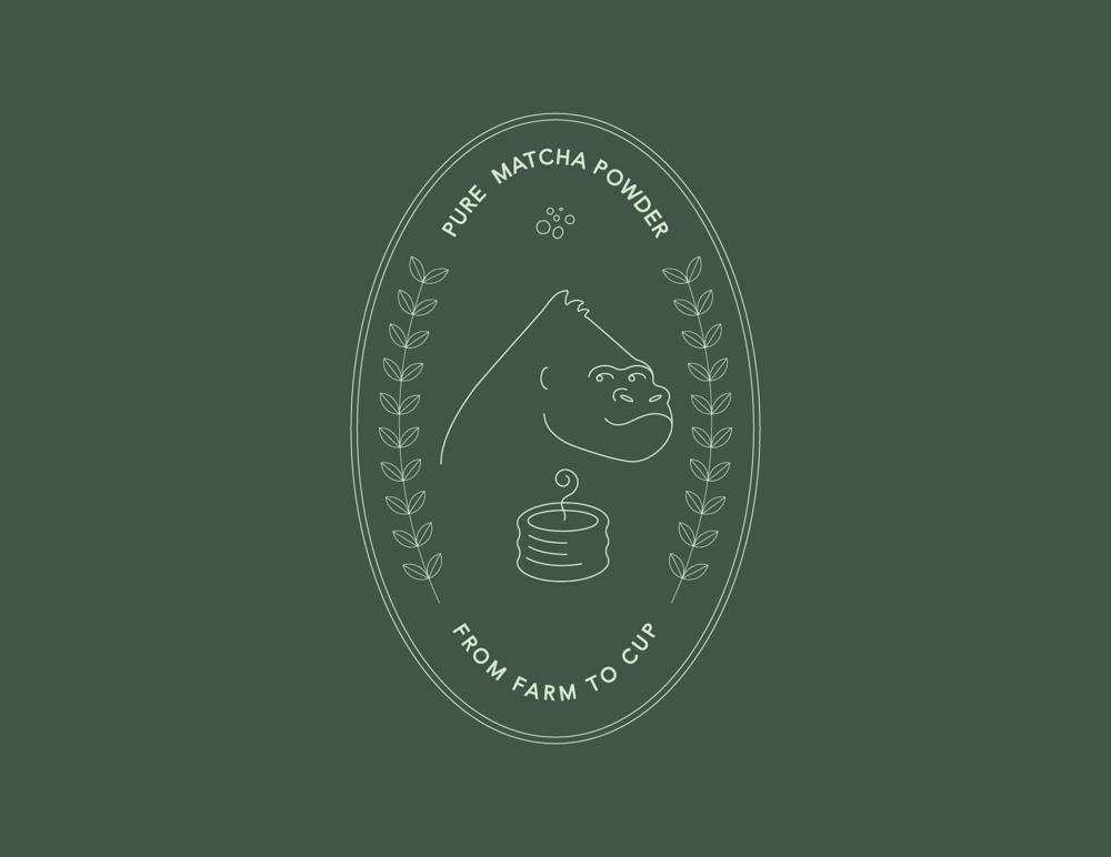 Gorillae Matcha - image 1 - student project