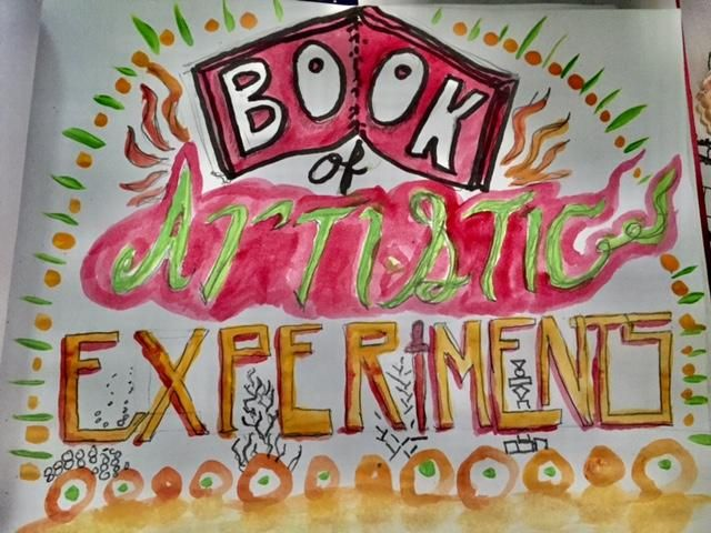 Book of Artistic Experiments - image 1 - student project