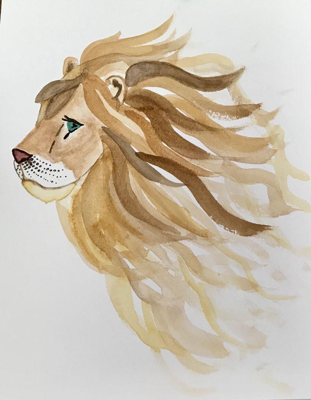 Teresa's Lion - image 2 - student project