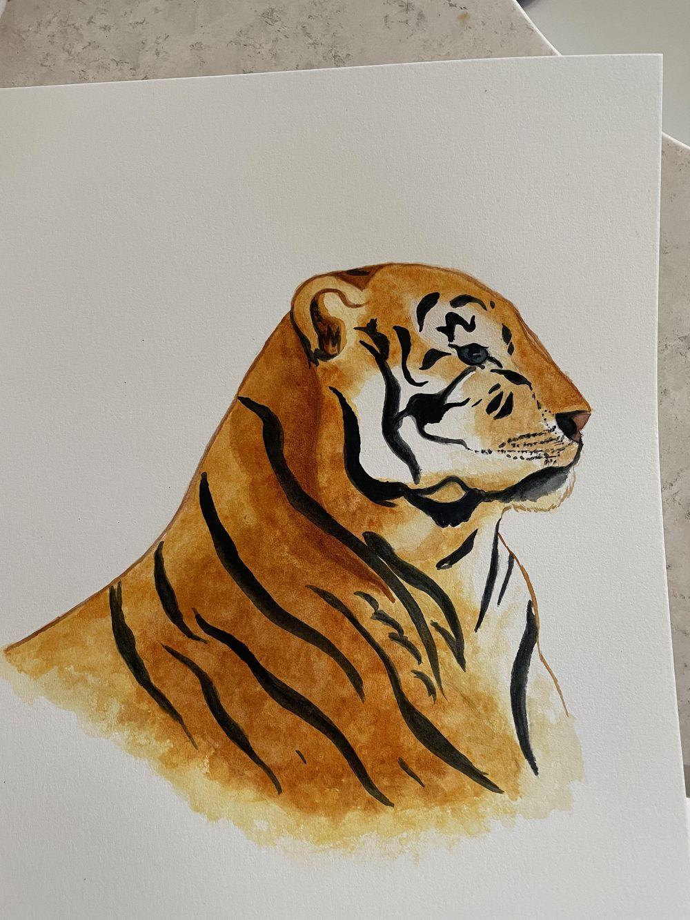 Teresa's Lion - image 1 - student project