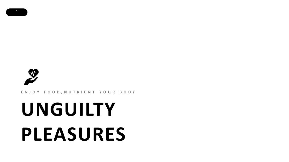 Unguilty Pleasure - Healthy Food Restaurant - image 1 - student project