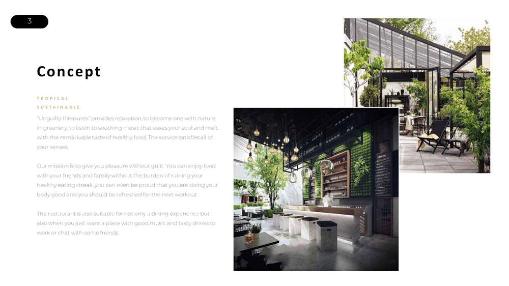 Unguilty Pleasure - Healthy Food Restaurant - image 3 - student project