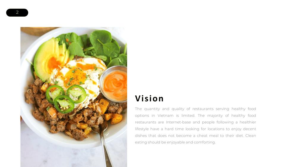 Unguilty Pleasure - Healthy Food Restaurant - image 2 - student project