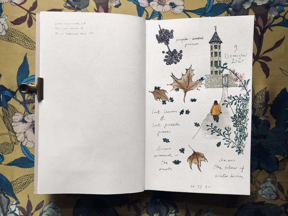 Sketchbook Illustration - image 8 - student project