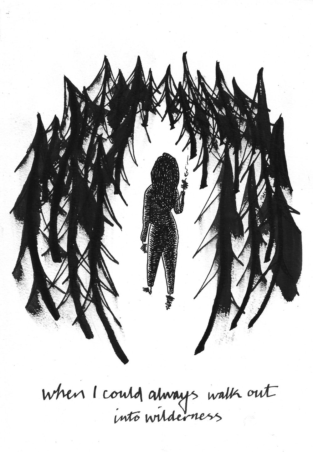 Illustrating with Ink - image 8 - student project
