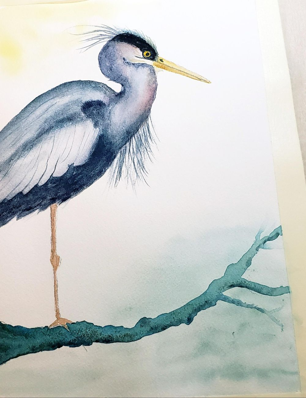 Harriett the Heron - image 1 - student project
