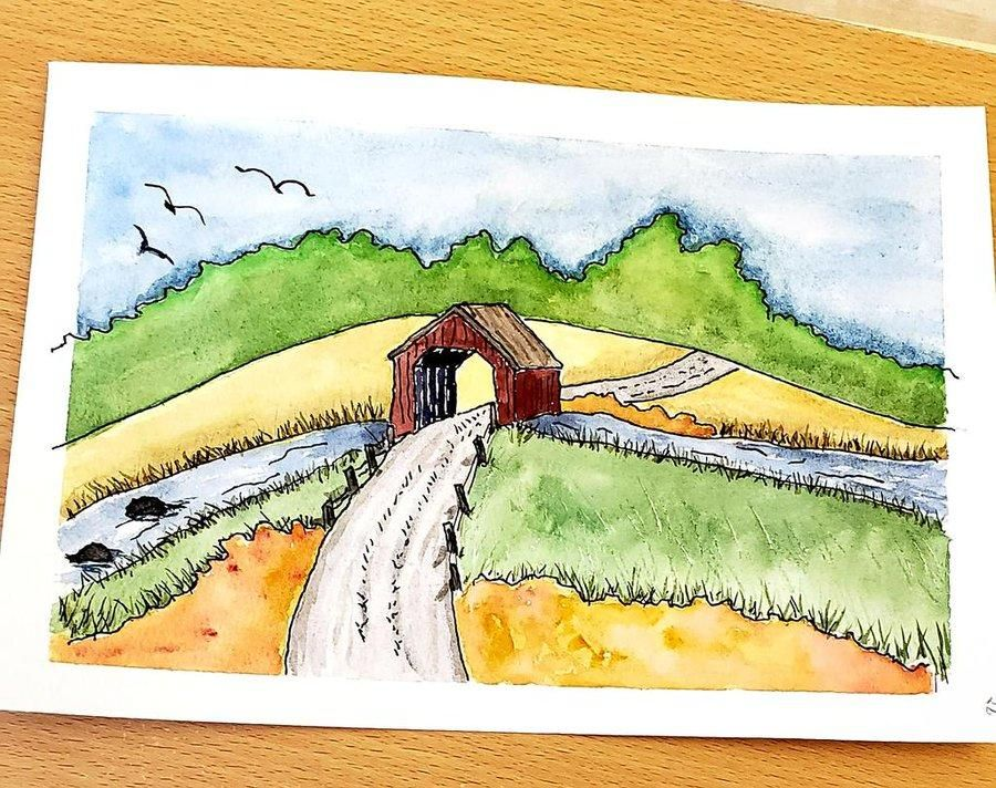 Covered Bridge - image 1 - student project
