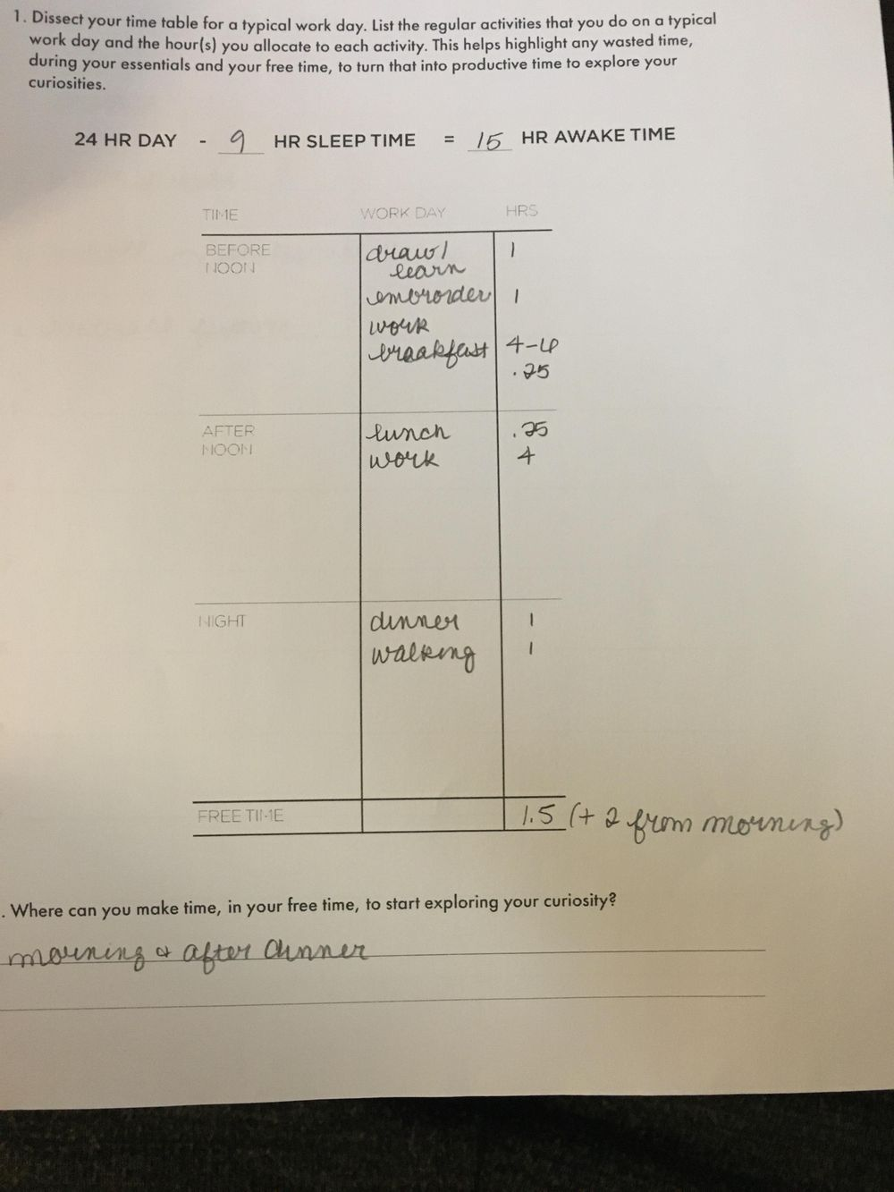 Class Workbook - image 4 - student project