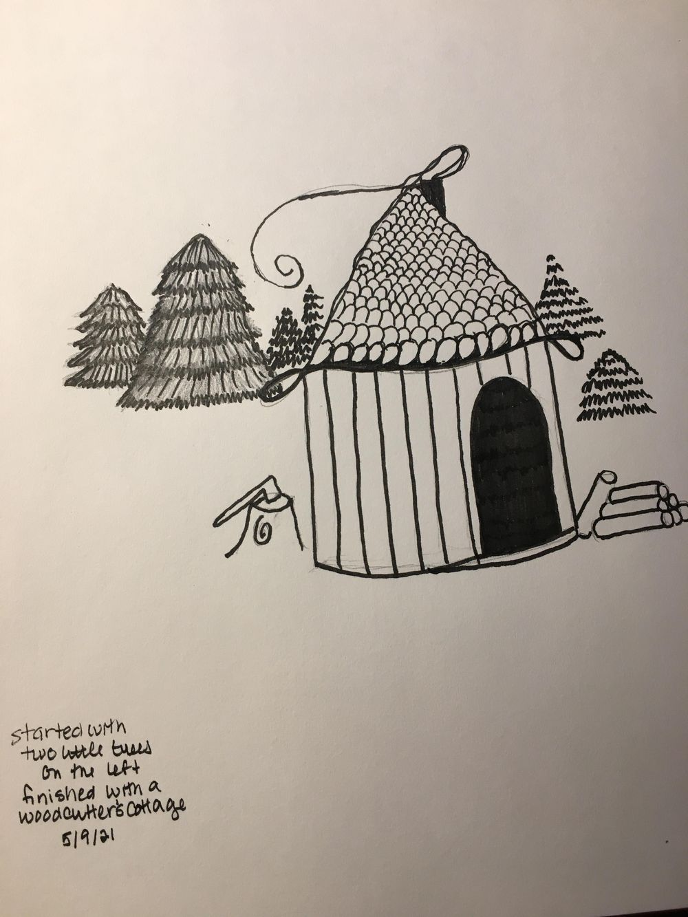 Drawing without fear - image 7 - student project