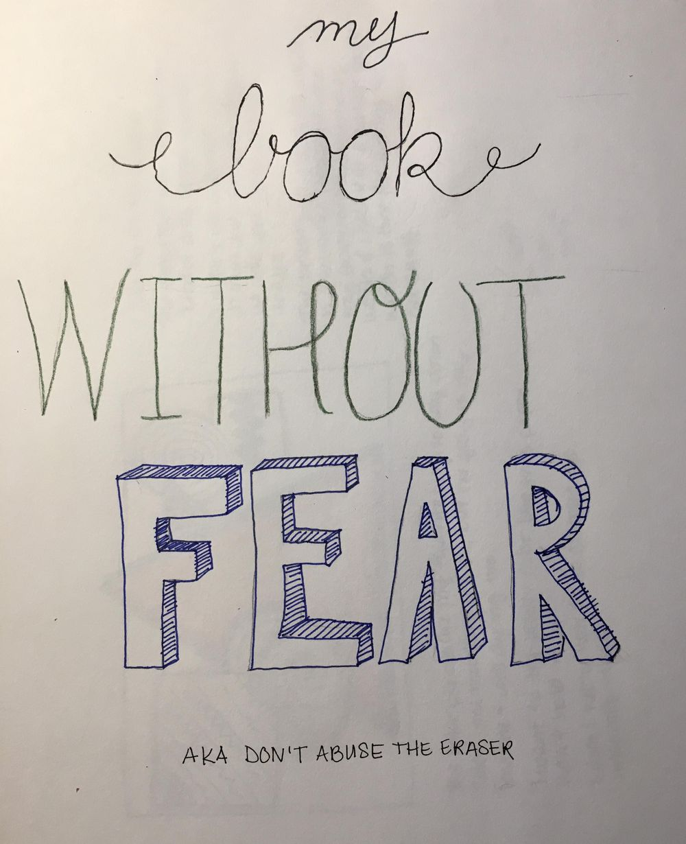 Drawing without fear - image 2 - student project