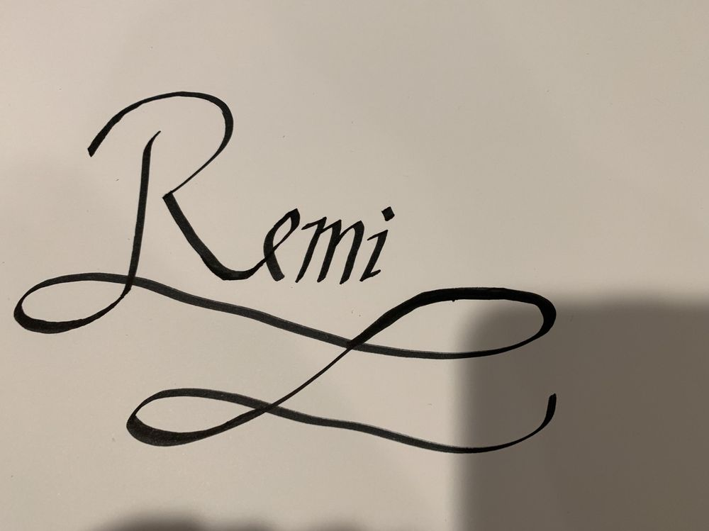 Name Calligraphy - image 1 - student project