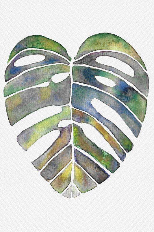 Botanical Watercolors - image 2 - student project