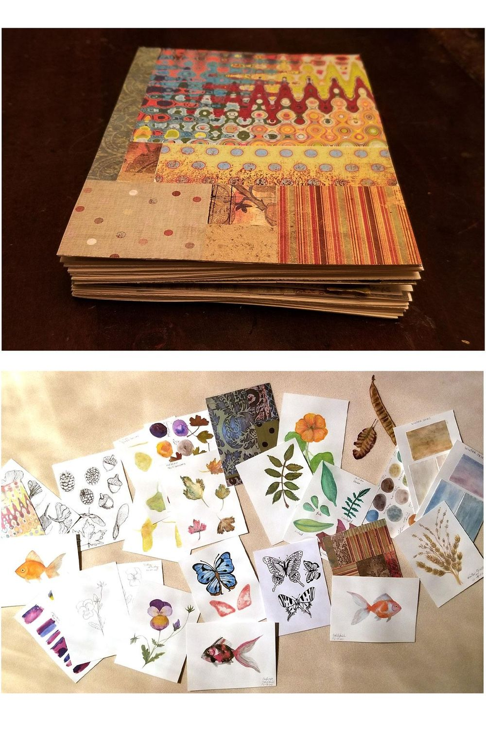 Structuring-creating small sketchbook - image 1 - student project