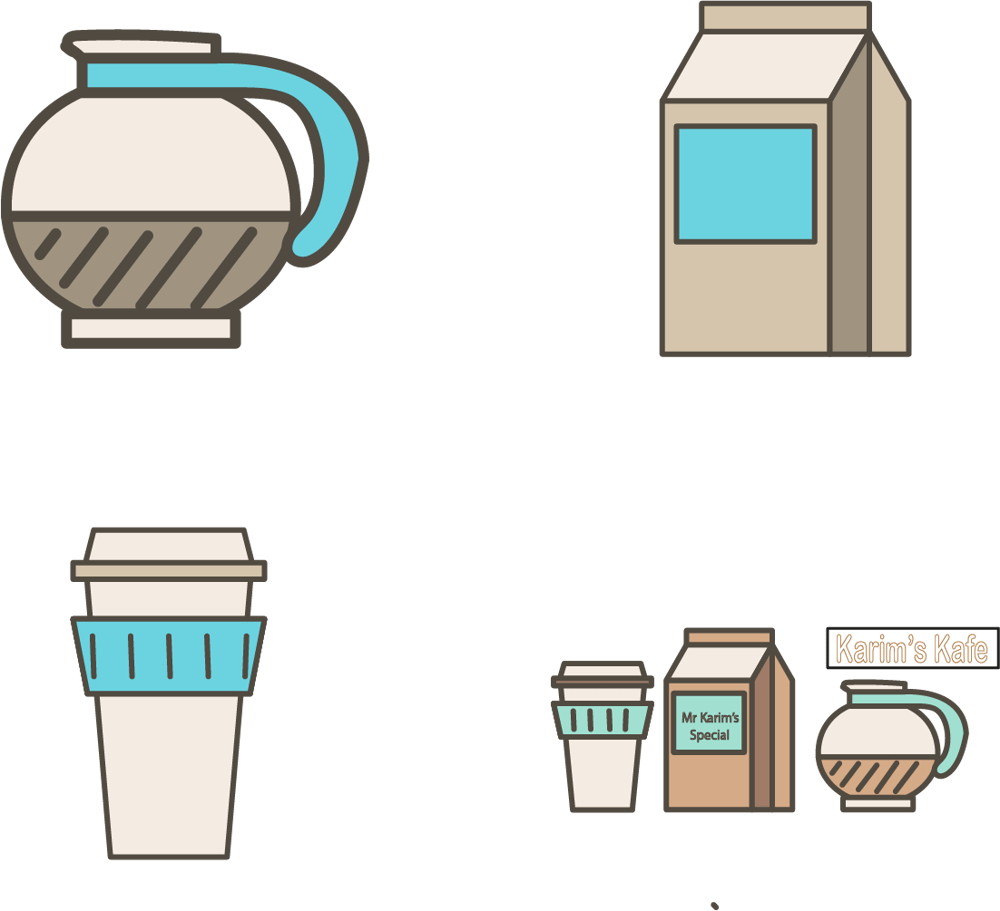 Karim's Kafe Koffee Kit - image 2 - student project
