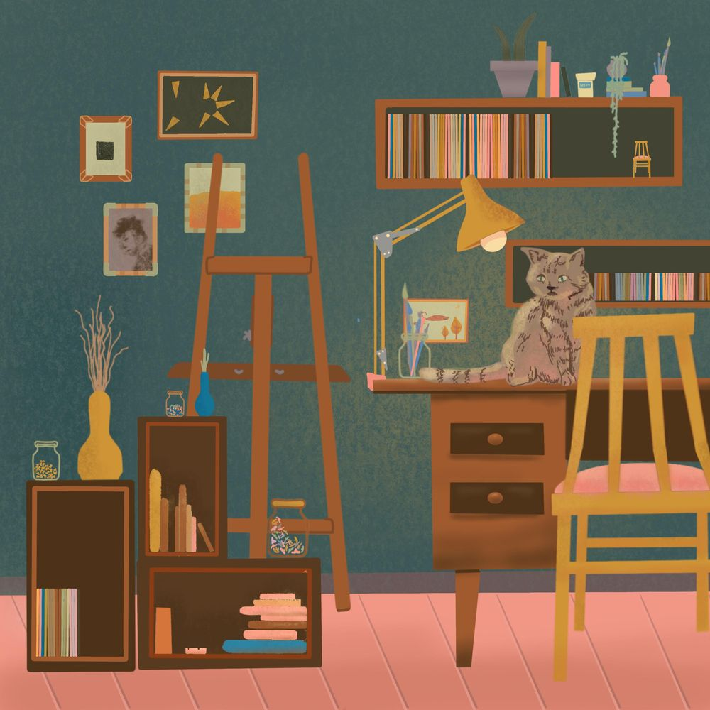 Kitty in my attic - image 1 - student project