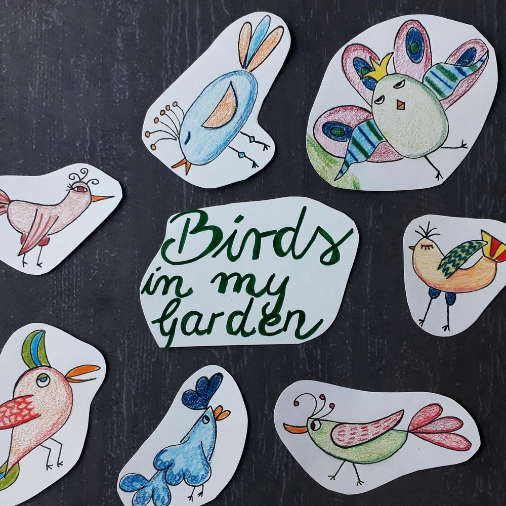 Birds in my Garden (^^) - image 1 - student project
