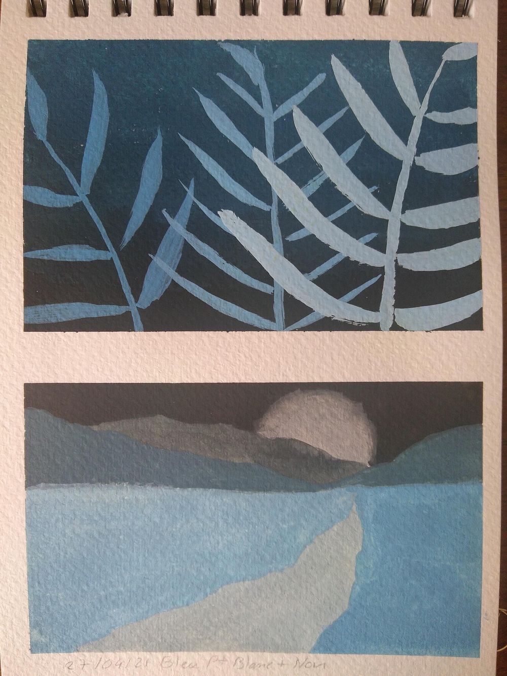 First steps with gouache - image 2 - student project