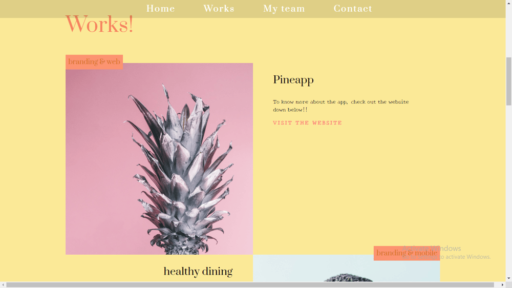 My first Website - image 1 - student project