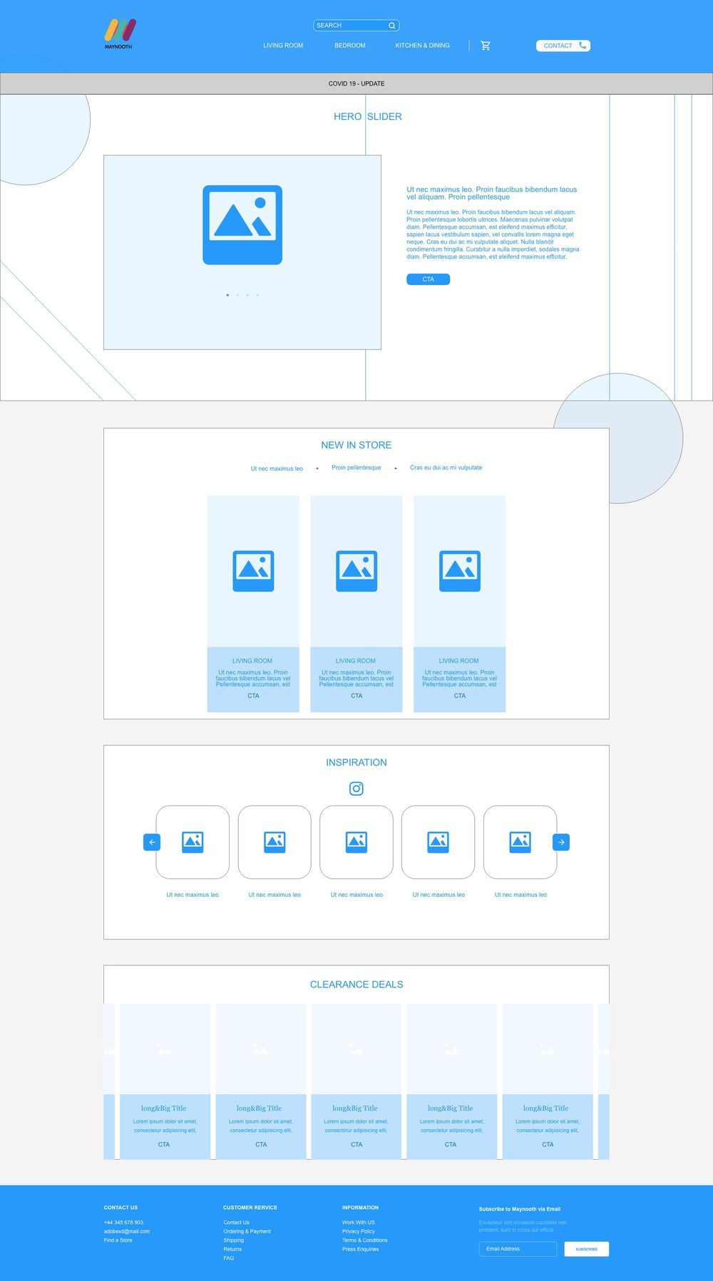 Adobe XD UI UX Design Projects - image 1 - student project