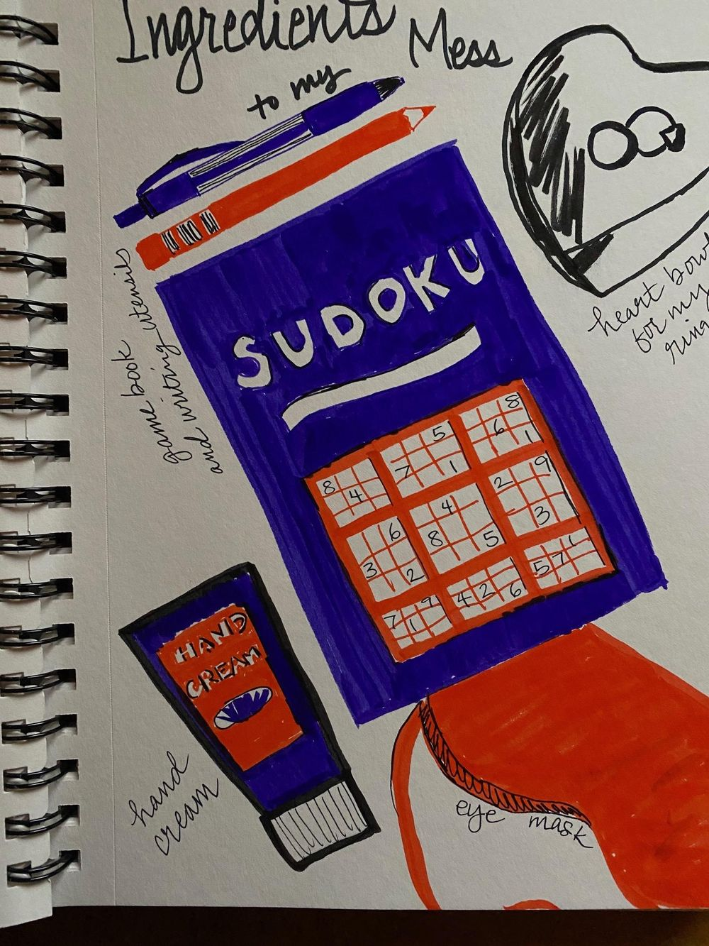 Illustrated Journaling - 14 Days of Prompts - image 3 - student project