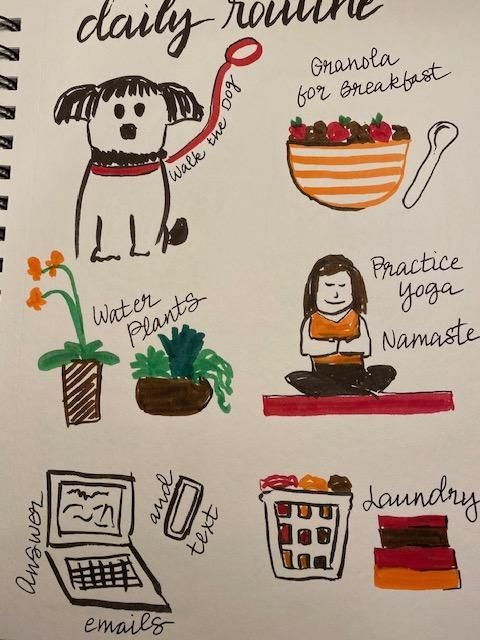 Illustrated Journaling - 14 Days of Prompts - image 1 - student project
