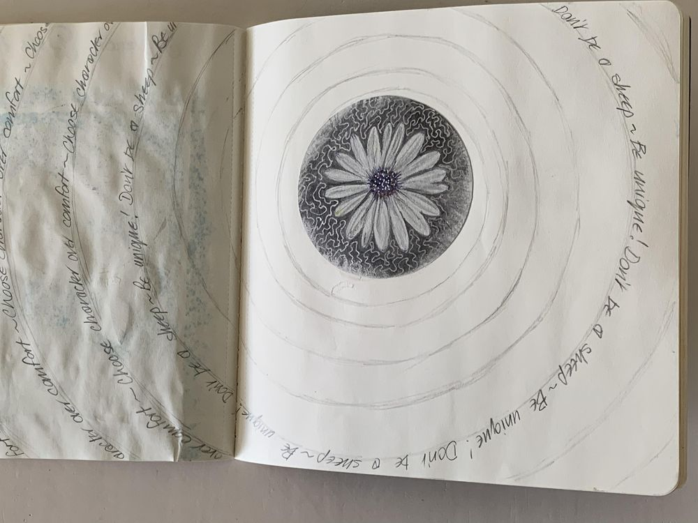 Sketchbook pages - image 5 - student project