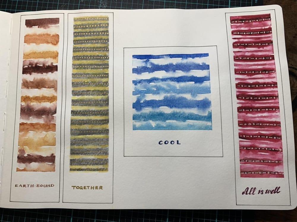 Bookmarks in sketchbook - image 1 - student project