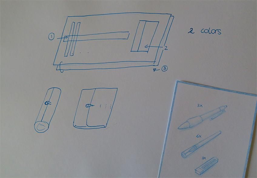 Pencil case - Sample project - image 1 - student project